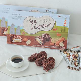 제주 우도땅콩 초코찰떡파이(36g*12입)