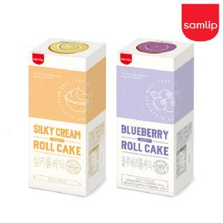 프리미엄 기프트 냉동 롤케익 2개(실키롤/블루베리)