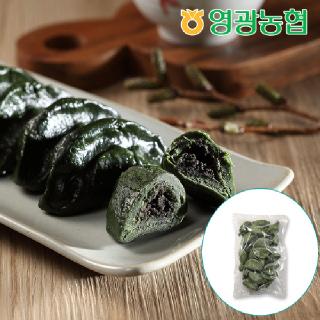 영광농협 흑임자 모싯잎송편(냉동) 0.8kg+0.8kg / 40개