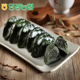 영광농협 모싯잎송편 흑임자송편 1kg+1kg (냉동)