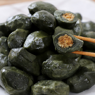 [맛정] 찌지않고 먹는 쑥송편 1kg x 3봉