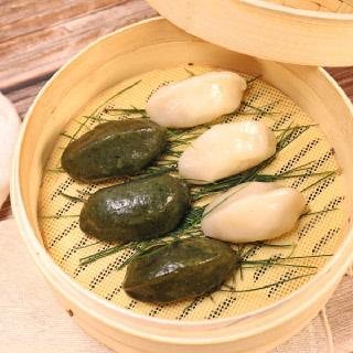 [착한떡] 녹두왕송편 700g+쑥기피왕송편 700g 총 1.4kg