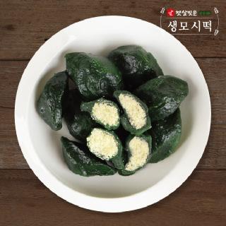 우리쌀로 만든 햇살빚은 생 모시떡(동부) 400g x 6팩