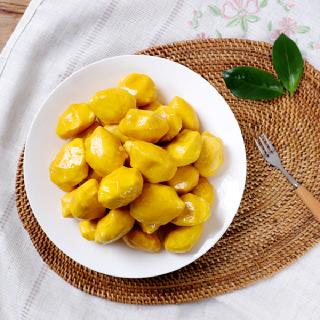 [맛정] 찌지않고 먹는 호박송편 1kg x 2봉