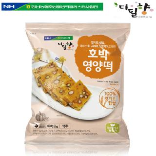 [정남농협 디딜향] 호박영양떡 400g(40g*10봉)