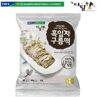 [정남농협 디딜향] 흑임자 구름떡 400g(40g*10봉)