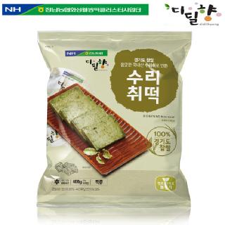 [정남농협 디딜향] 수리취떡 400g(40g*10봉)