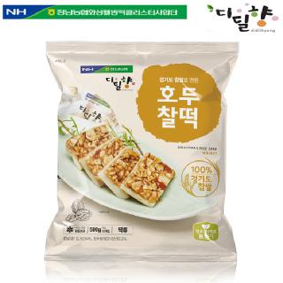 [정남농협 디딜향] 호두찰떡 500g(50g*10봉)