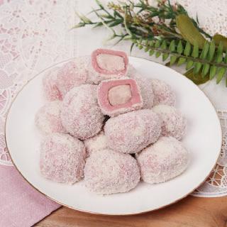 헐레벌떡 한입 딸기 크림치즈모찌(찹쌀떡) 40g 10개