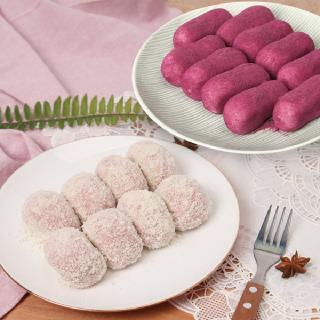 헐레벌떡 한입 딸기 크림치즈모찌(찹쌀떡) 40g 10개 + 고구마슈모찌 40g 10개