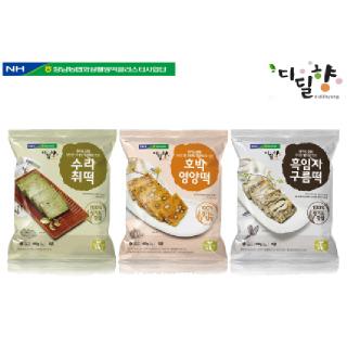 정남농협 디딜향 찰떡3종(수리취+호박+구름)