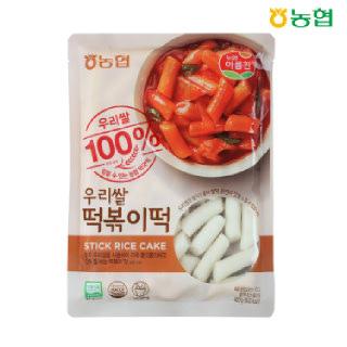 농협아름찬 우리쌀100% 떡볶이떡 400g