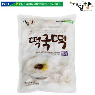 [정남농협 디딜향] 떡국떡 1kg