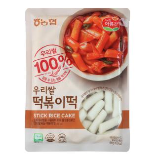 농협아름찬 우리쌀100% 떡볶이떡 400g*10개
