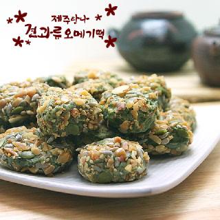 올찬농산 제주탐나 견과류 오메기떡(50개입)