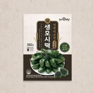 영광떡공방 우리쌀로 빚은 생모시떡(검정깨) 350g x 4팩