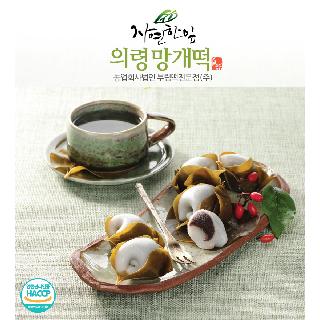 자연한잎의령망개떡 30g*10개*4팩