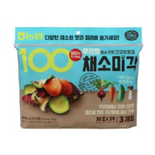농협아름찬 우리땅에서 자란 건강원물칩 채소미각 (30g*3봉)*2개