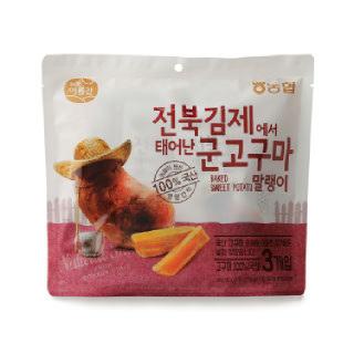 농협아름찬 전북 김제에서 태어난 군고구마말랭이(50g*3봉)*2개