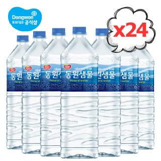 [배송공지확인]동원 샘물 2Lx24병(6병x4팩)