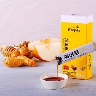 목에좋은 꿀 도라지배 생강 농축액으로 만든 꿀도배 10g 꿀스틱