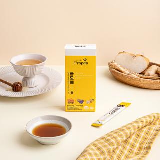 이롭다 목에좋은 식품 아카시아꿀 도라지배즙 생강농축액 달콤한 배도라지청 기관지에좋은꿀스틱 꿀도배