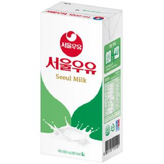 서울멸균우유 1000ml x 10팩