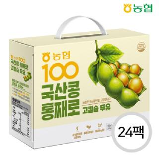 농협아름찬 국산콩100 고칼슘 두유 24팩