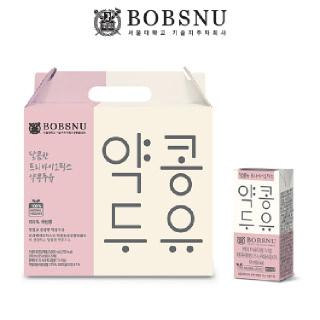 [밥스누] 서울대 달콤한 프리바이오틱스 약콩두유 190ml x 20팩