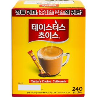 농협하나로마트 테이스터스 초이스 커피믹스 2640g(11gx240개입)