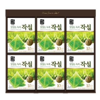 [녹차원] 맛있는녹차작설 선물세트