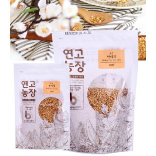연고농장 국내산 볶은 현미차 100g/500g