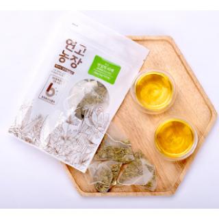연고농장 국내산 볶은 연잎차 삼각티백 25ea