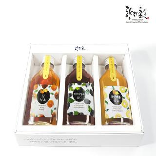 향지촌 천연발효식초 시그니쳐 세트 2호 (감+아이사랑초 오디+파인애플식초)