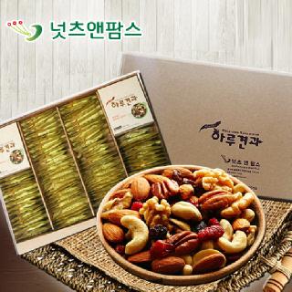 넛츠앤팜스 위클리스 하루견과 선물세트(26g x 100개입)