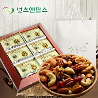 넛츠앤팜스 위클리스 하루견과 선물세트(26g x 30개입)