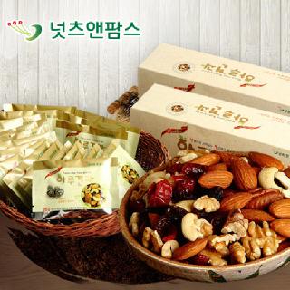 넛츠앤팜스 위클리스 하루견과 선물세트(26g x 20개입) x 2세트