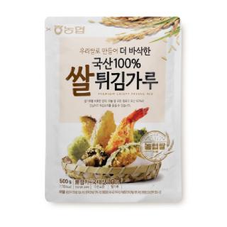 농협 우리쌀로 만든 국산100% 쌀튀김가루