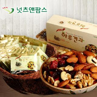 넛츠앤팜스 위클리스 하루견과 선물세트(26g x 20개입)