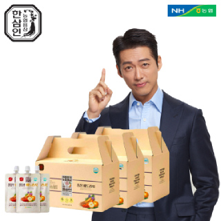 [농협홍삼 한삼인] 홍삼배도라지_70mlX20포_3세트 +쇼핑백