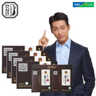 [농협홍삼 한삼인] NEW순홍삼_50mlX30포_4세트 +쇼핑백