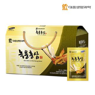 대웅생명과학 녹용홍삼 30포*1박스