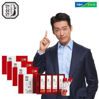 [농협홍삼 한삼인] 홍삼정스틱네이처_10mlX28포_4세트 +쇼핑백