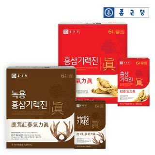 종근당 홍삼/녹용홍삼 기력진 70ml*60포(택1)