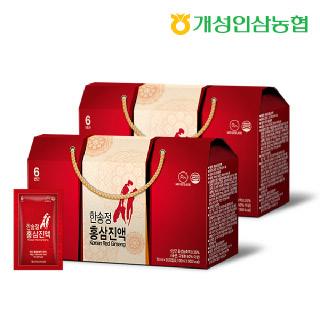 개성인삼농협 한송정 홍삼진액 30포*2박스