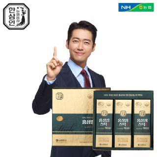 [농협홍삼 한삼인] 홍삼정스틱액티브_10mlX30포_1세트 +쇼핑백