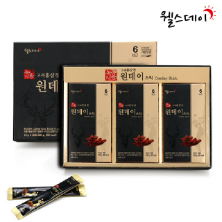 [웰스데이] 녹용담은 고려홍삼정 원데이스틱 (10g*30포)