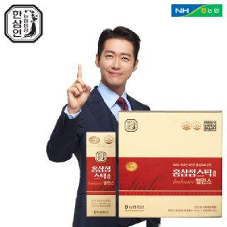 [농협홍삼 한삼인] 홍삼정스틱 밸런스_10mlX30포_1세트 +쇼핑백