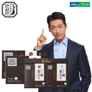 [농협홍삼 한삼인] NEW순홍삼_50mlX30포_2세트 +쇼핑백
