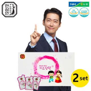 [농협홍삼 한삼인] 홍삼키즈장원_15mlX30포_2세트 +쇼핑백